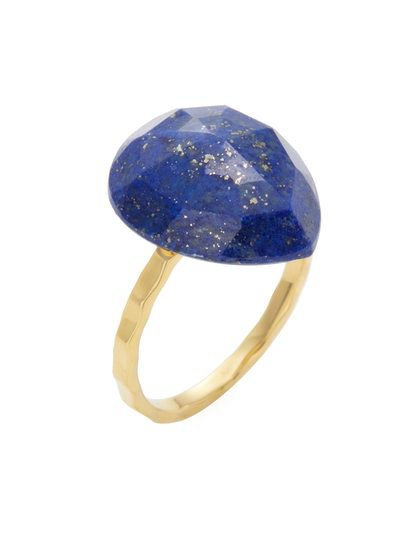 Lapis Ring by Alanna Bess Jewelry at Gilt