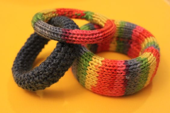 More knitted bangles