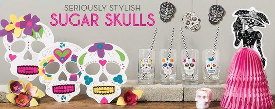 Sugar Skulls - Dia de los Muertos - Paper Source