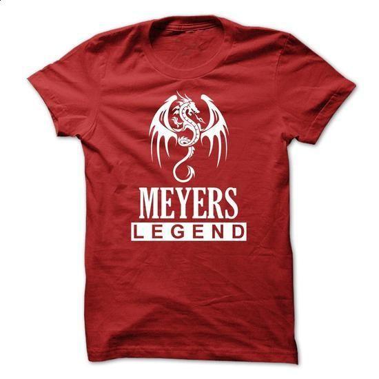 Dragon - MEYERS Legend TM003 - #baseball shirt #womens tee. I WANT THIS => https://www.sunfrog.com/Names/Dragon--MEYERS-Legend-TM003.html?68278