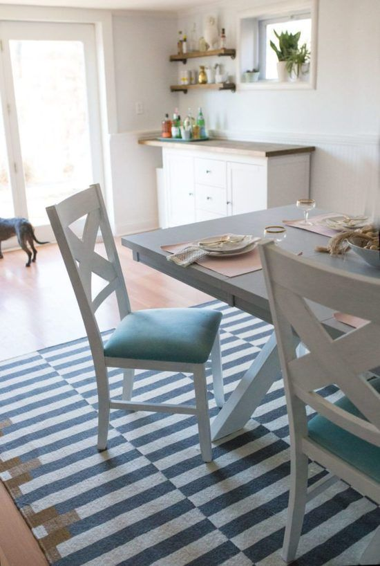 Diy Dining Table Makeovers Before Afters Avec Images Deco Entree Maison Chaise Cuisine Table Cuisine