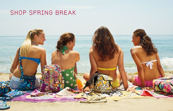 Spring Break! Travel inspirations from Vera Bradley