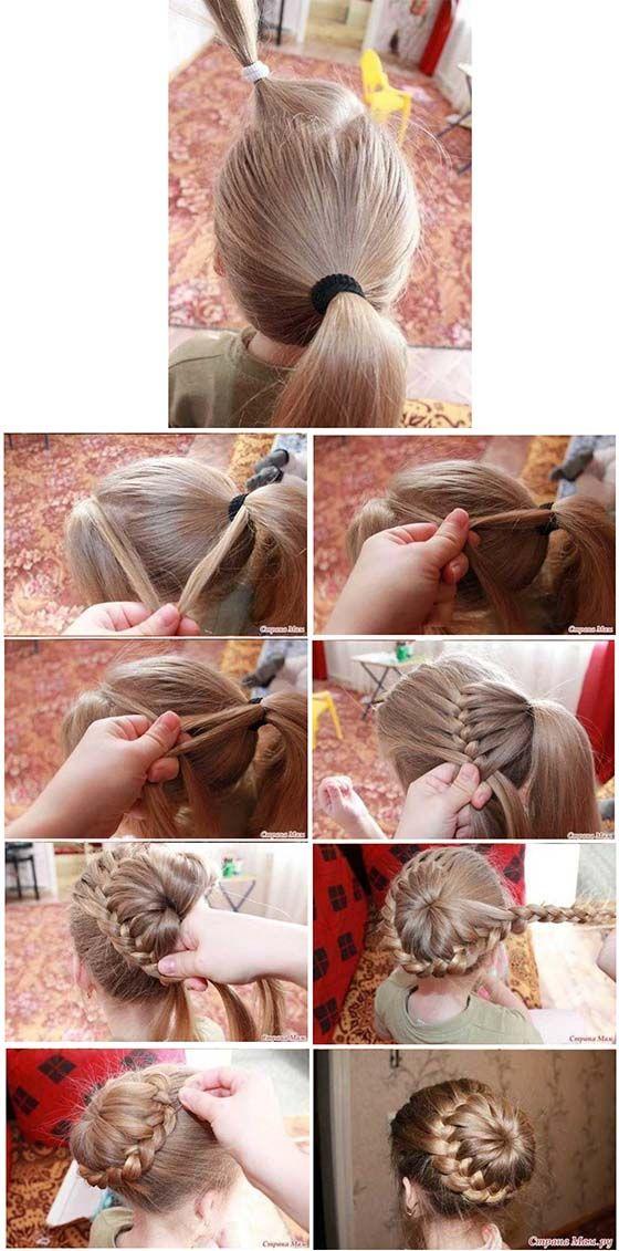 Hermosos ✿✿ peinados para niñas ✿✿ que funcionan muy bien para las chiquitinas de la casa, colas, moños, peinados recogidos y muchos más.