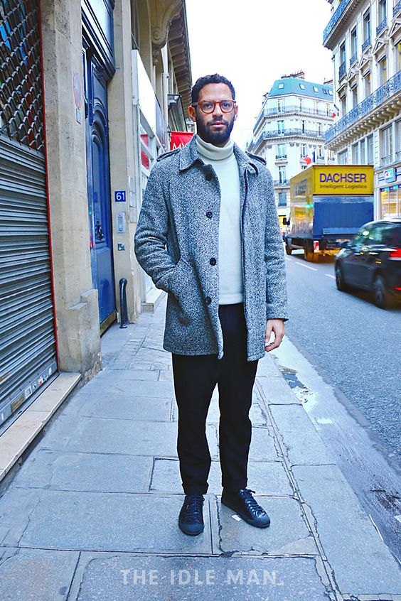 Men's Street Style - Smart Casual