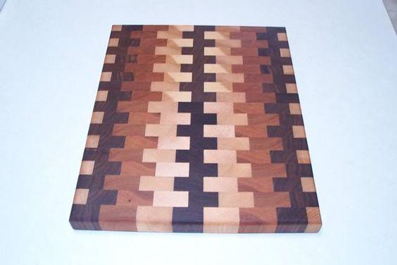 Slick end-grain cutting boards