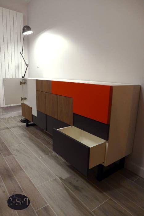 Photos de salle à manger de style de style moderne : buffet sur ...