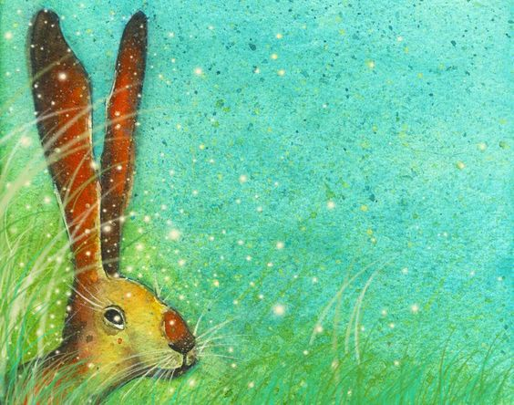 Ltd Ed Hare Print via Michelle Campbell Art. Click on the image to see more!