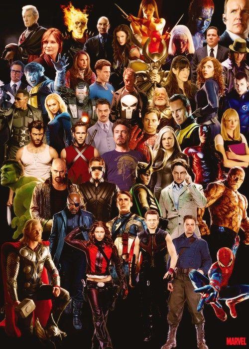 Marvel comic book characters. | MARVEL GEEK 4EVER ...