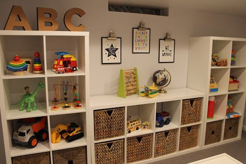 Playroom Pottery Barn Kids Toy Storage Pottery Barn Kids