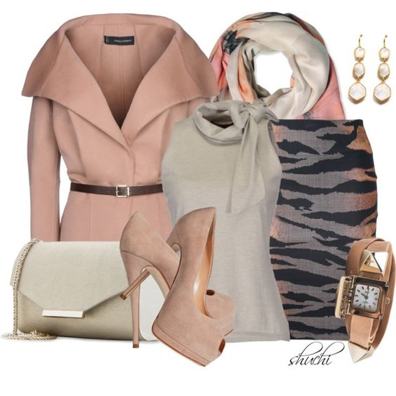 """""""Pastels In Autumn"""" by shuchiu on Polyvore"""