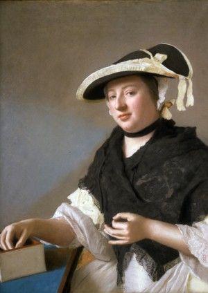 Jean-Etienne Liotard, Harriet Churchill, Lady FawkenerJean-Etienne Liotard, Harriet Churchill, Lady Fawkener Compton Verney