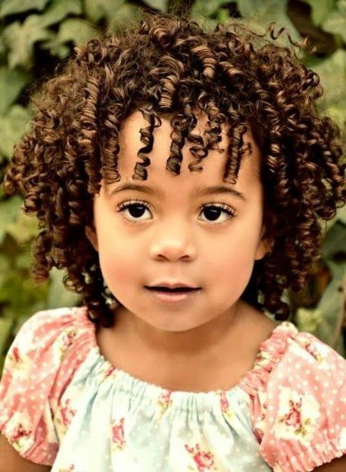 Outstanding Hairstyles For Toddlers Curly Hair And Short Curly Hair On Pinterest Short Hairstyles For Black Women Fulllsitofus