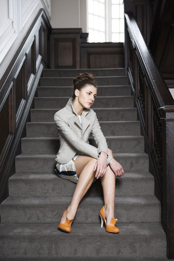 Kingfisher Tailored Jacket with Swoon Shift Dress