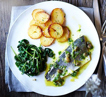 This elegant, gluten-free main is special enough for a dinner party, yet simple and quick to make for no fuss entertaining