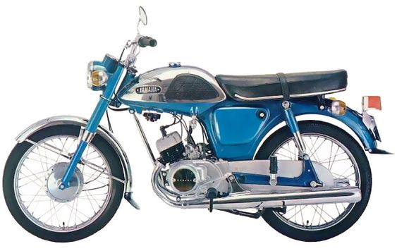 1960's Yamaha 100cc Twin. Very Cool! | Vintage motorcycles ...