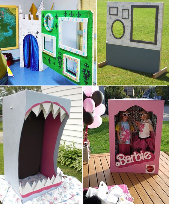 kids party photo booth ideas - Google Search