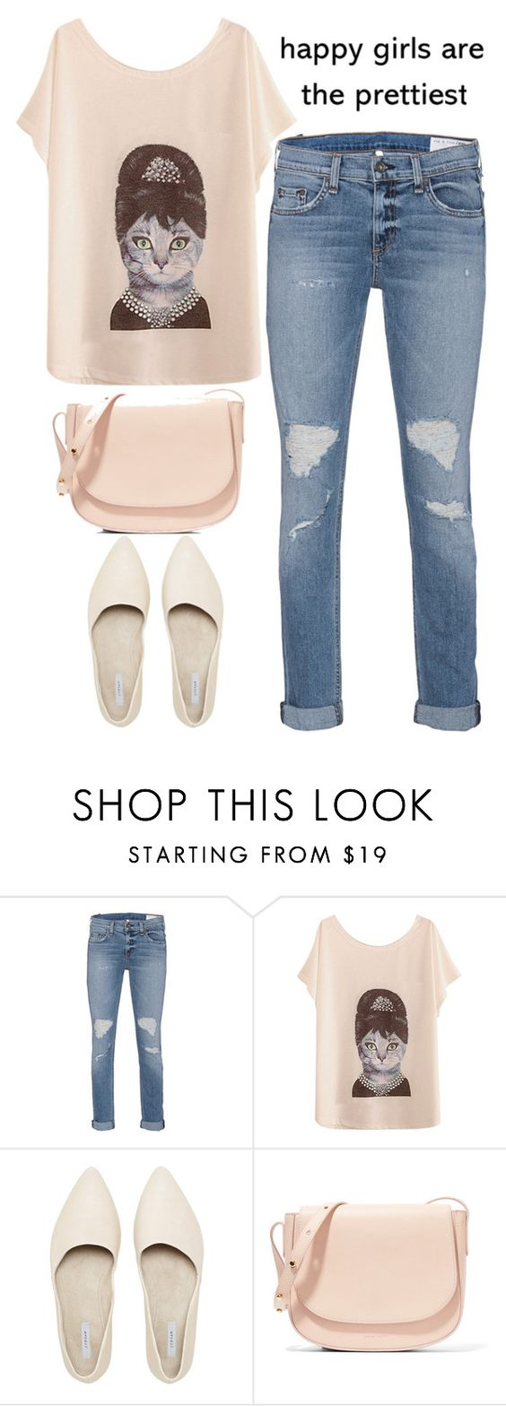 """""""Happy Girls"""" by ashkitty ❤ liked on Polyvore featuring rag & bone and Mansur Gavriel"""