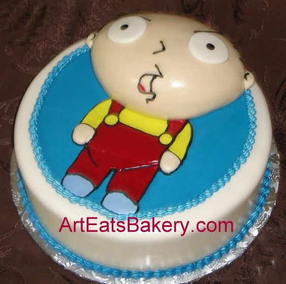 Unique Birthday Cakes for Women Artistic unique modern ...
