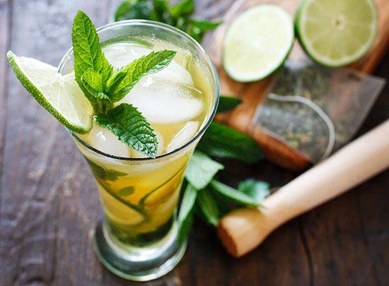 Iced Green Tea Mojito | Skinnytaste