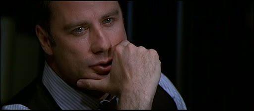 'Face/Off' (1997)... (John Travolta & Nicholas Cage)... not on youtube