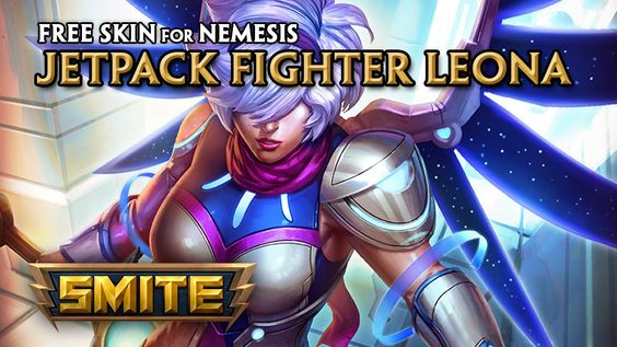 SMITE - Earn the FREE Jetpack Fighter Nemesis Skin!
