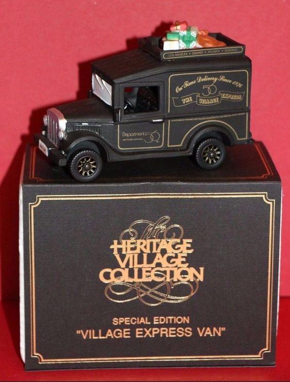 Dept. 56 Heritage Village Village Express Van Special Edition #99511 #babescollectibles