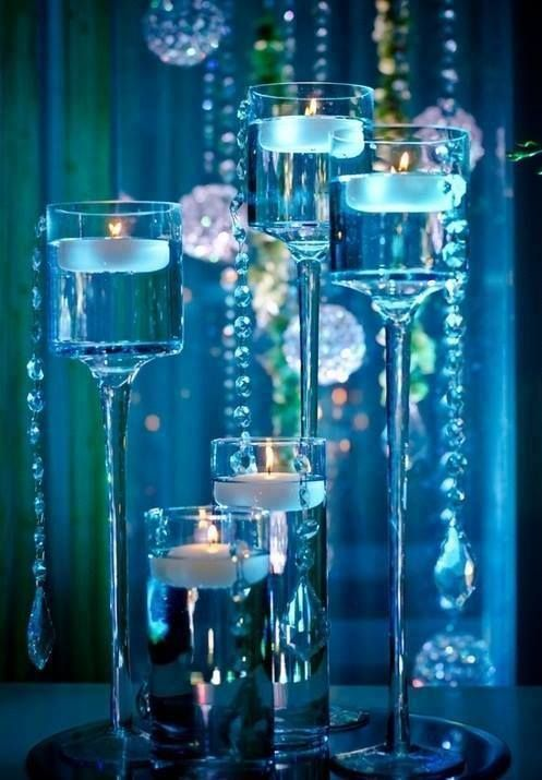 ~blue crystal candlelight~