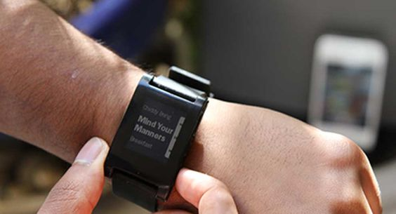 Pebble Smatchwatch on PCmag