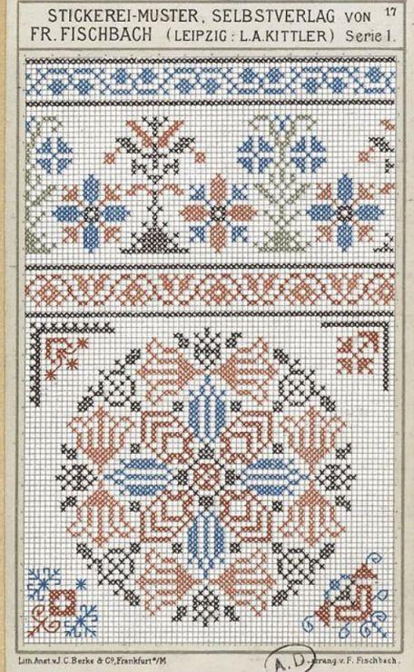 Gallery.ru / Фото #108 - старинные ковры и схемы для вышивки - SvetlanN