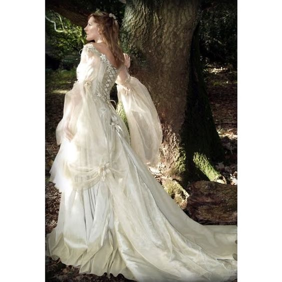 Gothic Fairy Dresses For Medieval Fairy Tale Wedding