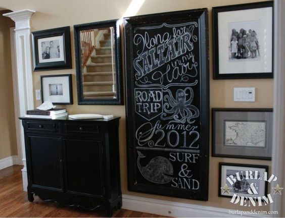 How to make a gallery wall using what you have