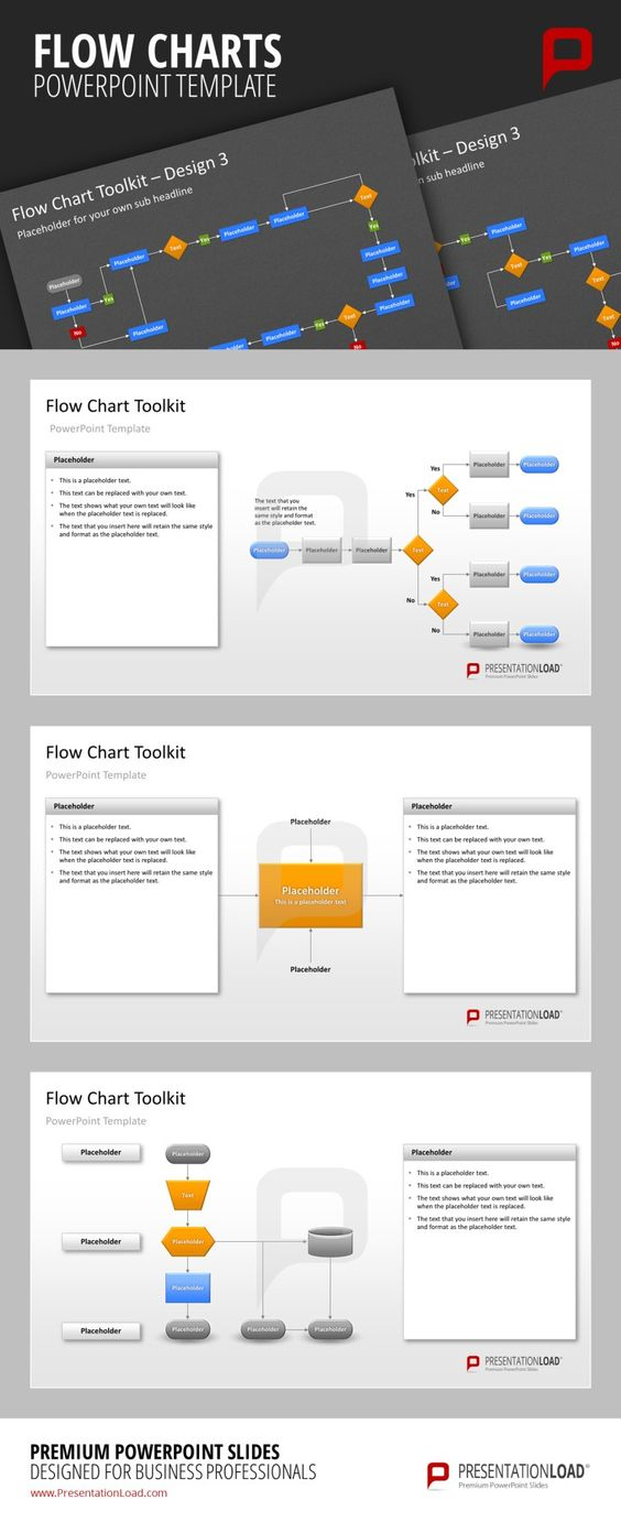 Flow Charts PowerPoint Templates You can easily change the colors - flow chart templates
