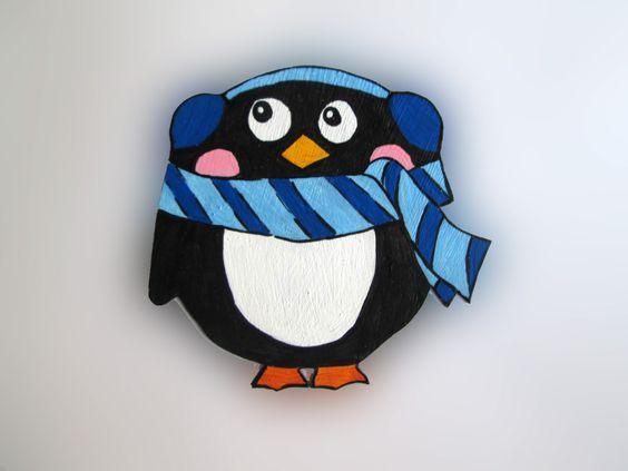 Imãs de geladeira / Magnets - Pinguim 10