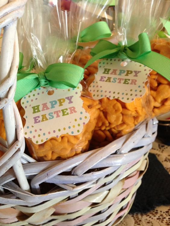 Easter treats goldfish crackers