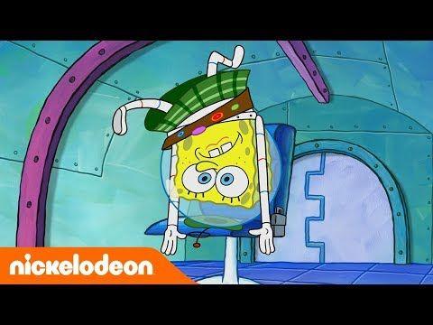 Bob Esponja Bob Esponja En El Espacio España Nickelodeon En Español Youtube Bob Esponja Nickelodeon Bob