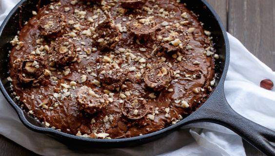 Μπισκοτένιο brownie με γεύση φερέρο | Τι λες τώρα;