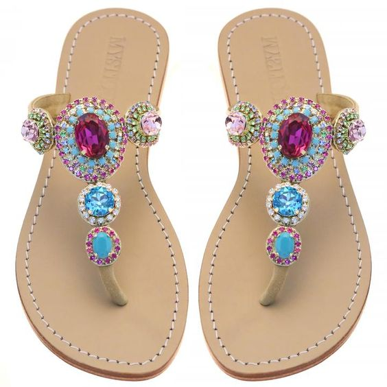 59 Cute Sandal Jewelry To Inspire Everyone shoes womenshoes footwear shoestrends