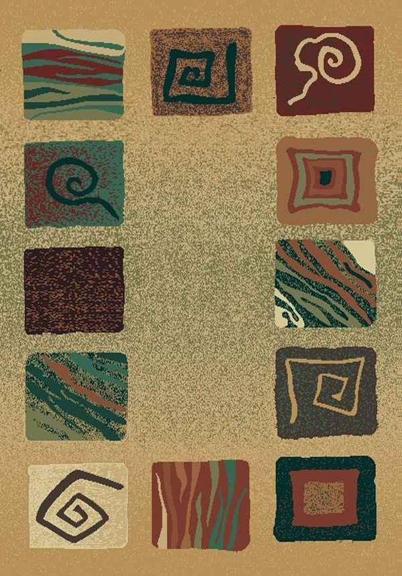5x8 area rugs cheap on sale beige teal abstract bordered squares tan rug lowes
