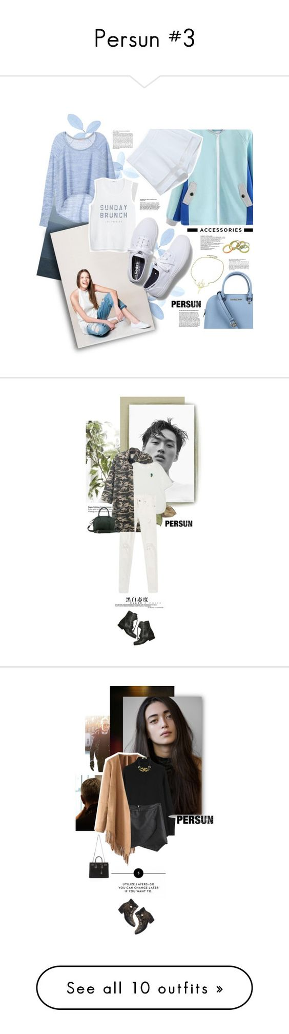 """""""Persun #3"""" by juhh ❤ liked on Polyvore featuring fashionset, persunmall, persun, Juliajulian, Michael Kors, Victoria's Secret, MANGO, Keds, Edition and J.A.K."""