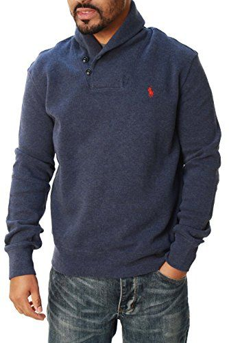 Mega Shop | Polo Ralph Lauren Men\u0026#39;s Shawl Collar Pullover Sweater-AlpineGreen