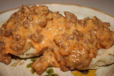Chorizo Sausage Gravy: Like Wild Eggs maybe