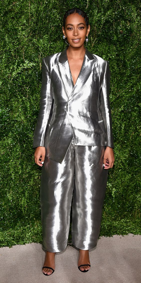 Look of the Day - Solange Knowles from InStyle.com: