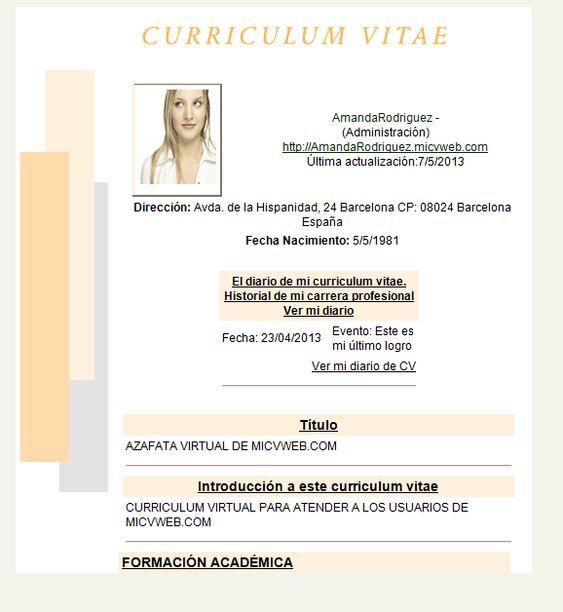 Formatos De Curriculum En Word Isla Nuevodiario Co