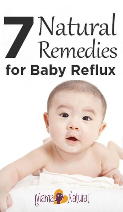Natural Remedies for Baby Reflux Instead of relying upon harsh pharmaceuticals, try these natural remedies for baby reflux instead.