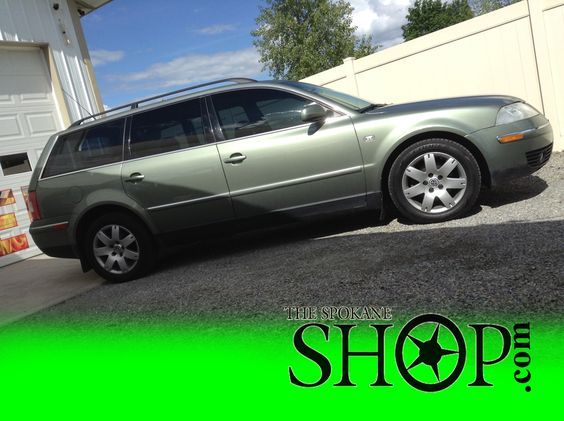 vw passat green wagon window tinting by the spokane shop window tinting spokane pinterest. Black Bedroom Furniture Sets. Home Design Ideas