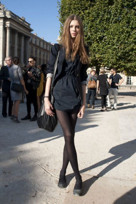 Call me leggy #fashion #look #dress
