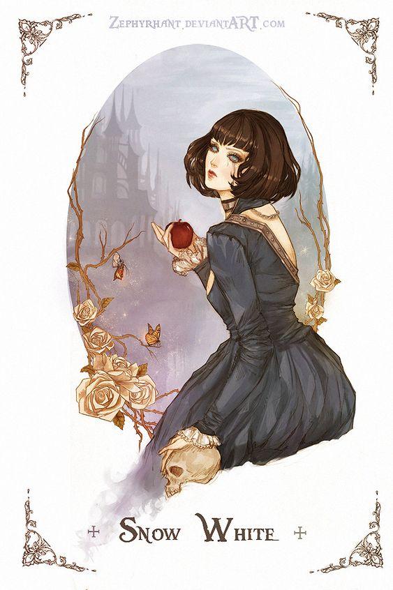 Snow White by Zephyrhant on deviantART