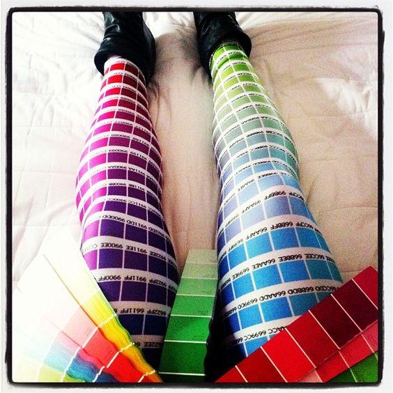 Hex Colour Leggings | Black Milk Clothing