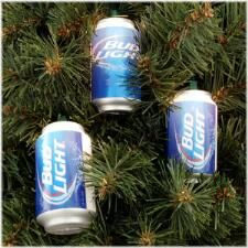 Bud Light Can 10 Light Set