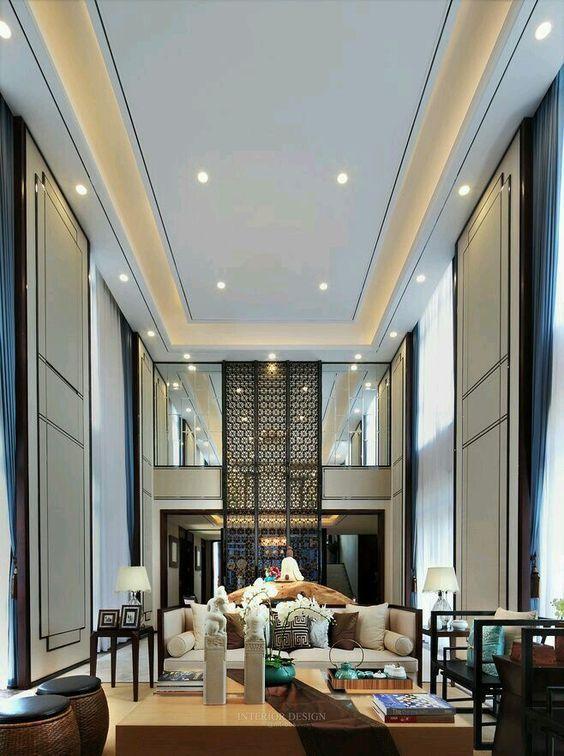 Modern Classic Contemporary High Ceiling Living Room Luxury Ceiling Design Bedroom False Ceiling Design High Ceiling Living Room